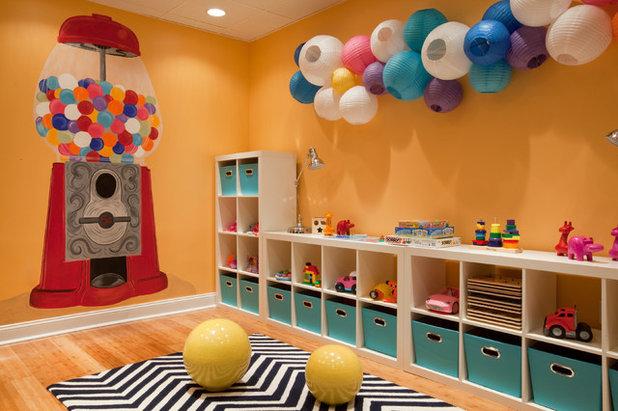 20 trucs et astuces pour am nager la parfaite salle de jeu. Black Bedroom Furniture Sets. Home Design Ideas
