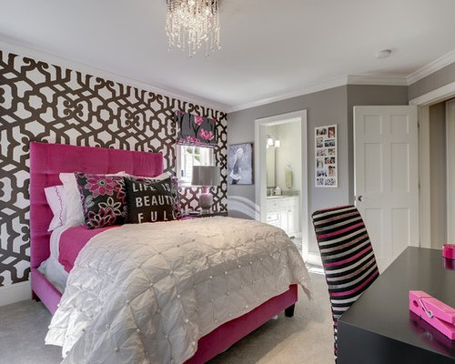 teen girls room makeover | houzz