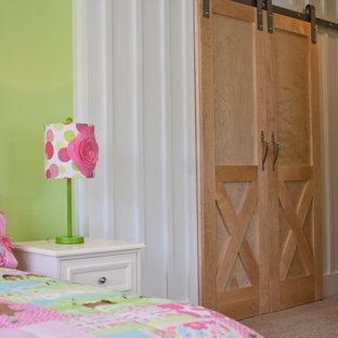 Modelo de dormitorio infantil de 4 a 10 años de estilo americano
