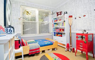 Habitaciones infantiles: Paredes que dan rienda suelta a su creatividad