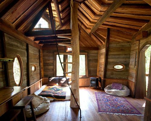 inside treehouse houzz - Tree House Inside