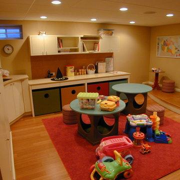 Custom Children's Playroom Cabinets