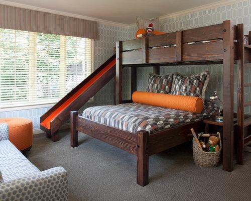 Cool Bunk Beds For Teenagers teen boy bunk beds   houzz