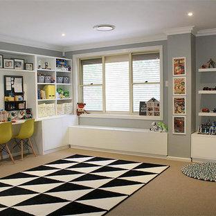 シドニーのコンテンポラリースタイルのおしゃれな子供部屋の写真