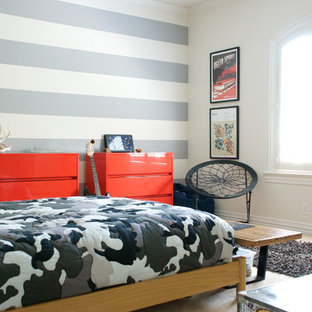 Inspiration for a contemporary boy kids' room remodel in Dallas