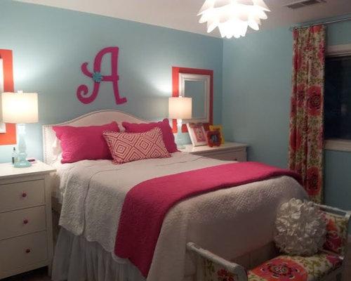 Pink Blue Rooms | Houzz