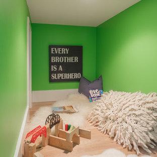 Aménagement d'une chambre d'enfant classique.