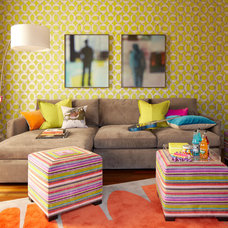 Eclectic Kids by ScavulloDesign Interiors