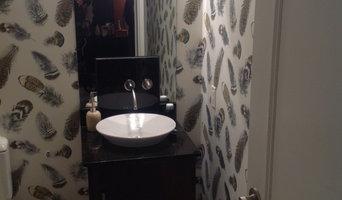 Darlene's powder room