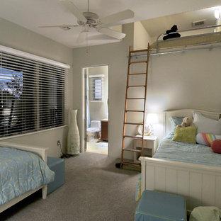 Idée de décoration pour une chambre d'enfant sud-ouest américain.