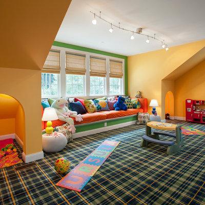 Playroom - traditional playroom idea in Philadelphia