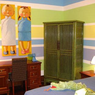 Foto di una cameretta per bambini etnica