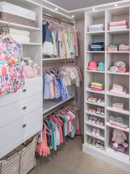 toddler room transitional girl carpeted and beige floor toddler room idea in nashville with gray - Toddler Room Ideas