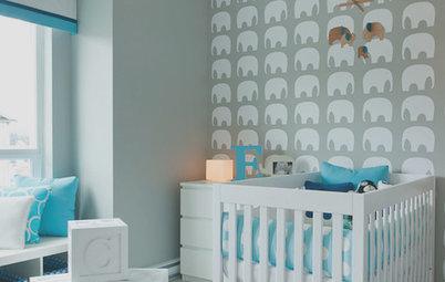 Decora el dormitorio infantil con elefantes