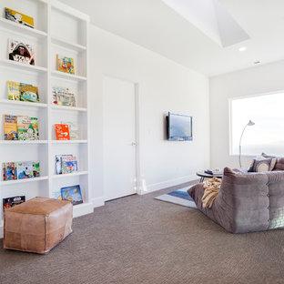 Inspiration for a rustic kids' room remodel in Salt Lake City