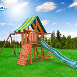 Dreamscape Swing Set - Foot Print 9' x 23' (allow 6' clearance around set)