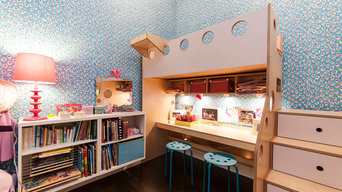 DUMBO; Loft beds for sisters' shared room