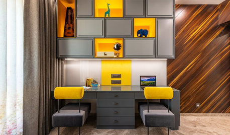 5 Energising Study Room Colour Combinations