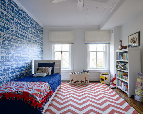 Inspiration For A Transitional Boy Dark Wood Floor And Brown Floor Kidsu0027  Room Remodel In Part 48