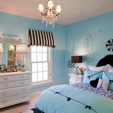 Eclectic Bedroom by Amanda Austin Interiors