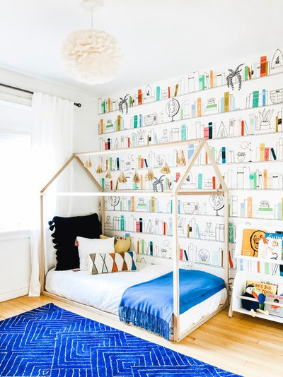 Skandinavisch Kinderzimmer by Curated Nest