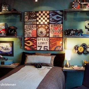 Teen Racing Bedroom