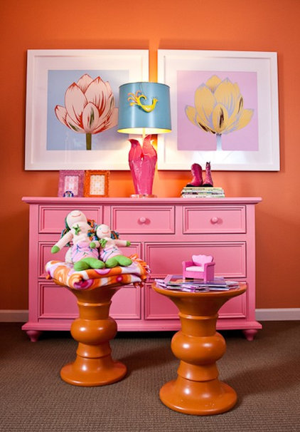 eclectic kids by Eric Ross Interiors, LLC
