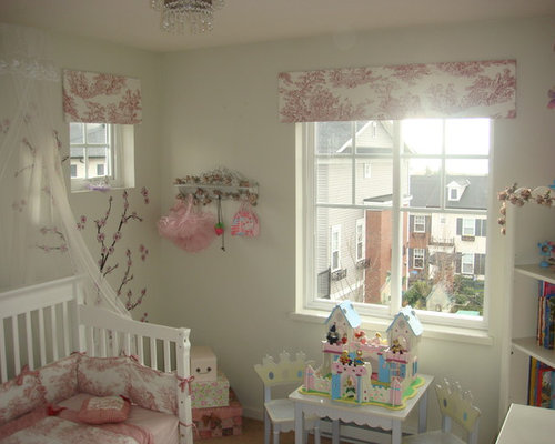 inspiration for an eclectic toddler room remodel for girls in other