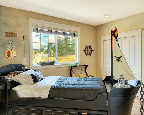 Pirate Boys Bedroom Home Design Ideas, Pictures, Remodel