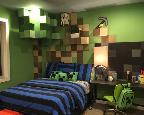 Kinderzimmer Minecraft Gestalten Ideen amp Design HOUZZ