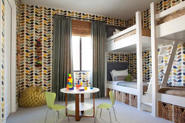 Mid-Century Kinderzimmer by Brittany Stiles Design