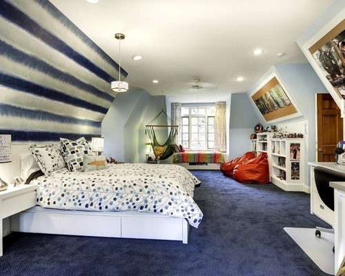 midsized boy blue floor and carpeted kidsu0027 room idea in minneapolis with
