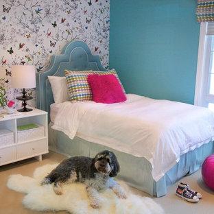 Teen Girl Bedroom Wallpaper | Houzz