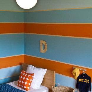 Minimalist kids' room photo in Atlanta