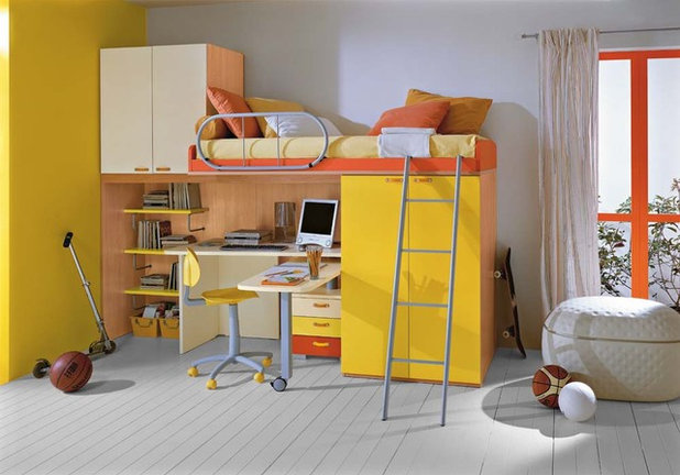 Kids Bedroom Yellow the best colors for kids' rooms