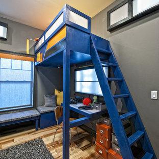 Eklektisches Kinderzimmer mit Schlafplatz in Sonstige