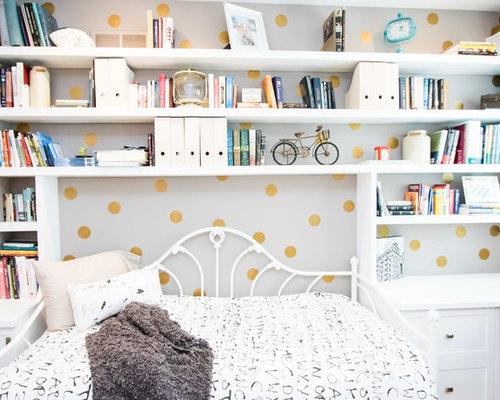Skandinavische Jugendzimmer Painted. - Ideen & Design  HOUZZ