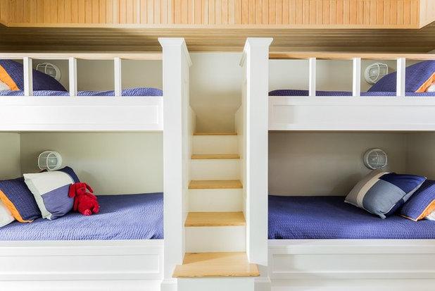 Современная классика Детская by Elms Interior Design