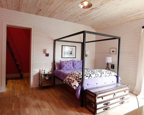 Farmhouse bedrooms home design ideas pictures remodel for Rooms to go kids atlanta