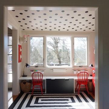 Farmhouse style playroom