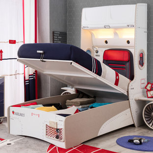 First Class Airplane Kids Bedroom