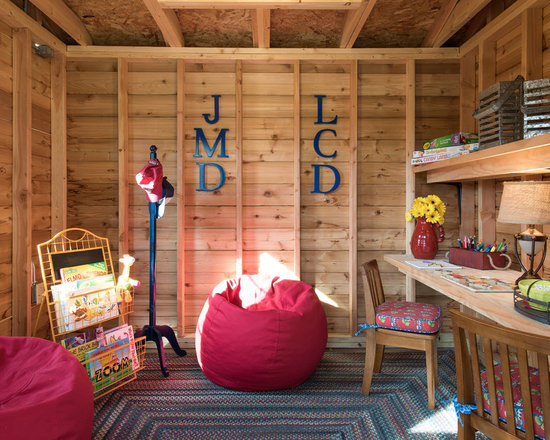 Kids Treehouse Inside inside treehouse | houzz