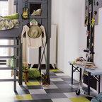 Marmoleum Click Contemporary Basement Ottawa By