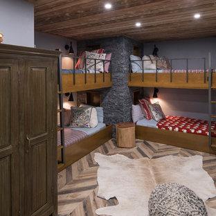 Mountain style kids' room photo in Milwaukee