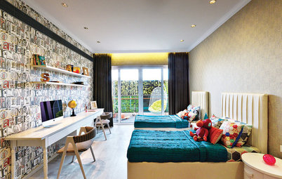 Indian Homes: 10 Kids' Rooms Show How to Avoid Sibling Rivalry