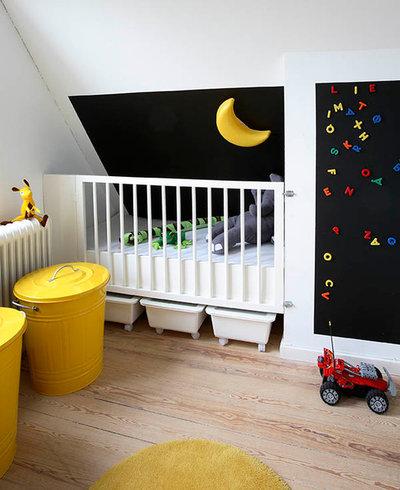 Skandinavisk Børneværelse by A ROOM ABOVE