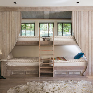 Example of a cottage chic gender-neutral kids' bedroom design in Nashville
