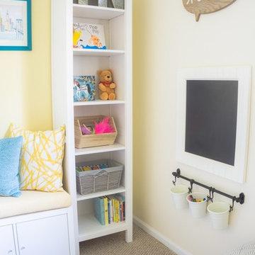 Fun and Bright Playroom for Grandchildren