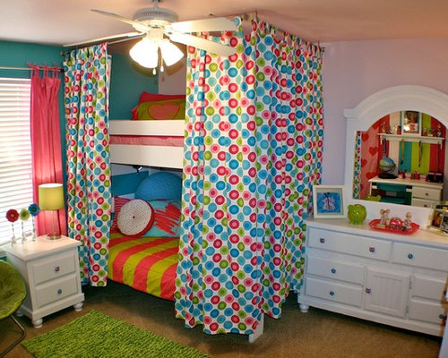 Example of an eclectic kids' room design in Denver