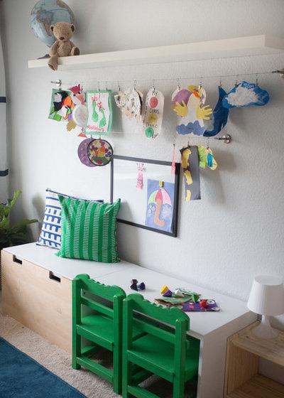エクレクティック 子供部屋 by mollieQUINN Rad Rooms for Baby & Kids